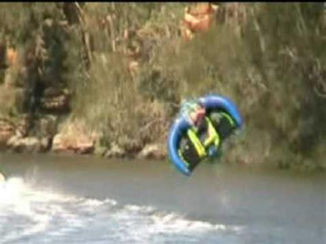 flying boat tube video flying manta ray sevylor water ski tow toy youtube