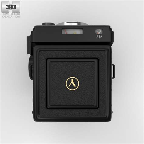 Yashica Mat 124g Value by Yashica Mat 124g 3d Model Humster3d