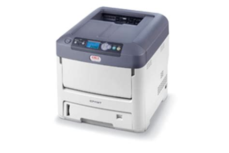 Printer Oki C711wt oki expands color printer lineup targets transfer printing with c711wt actionable intelligence