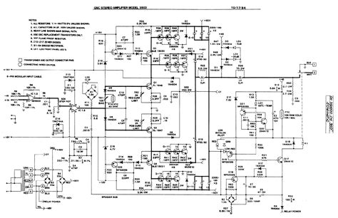 Power Lifier Qsc digital graphic equalizer circuit diagram digital free