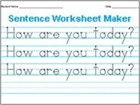 free printable handwriting worksheets make your own make your own handwriting worksheet teaching reading