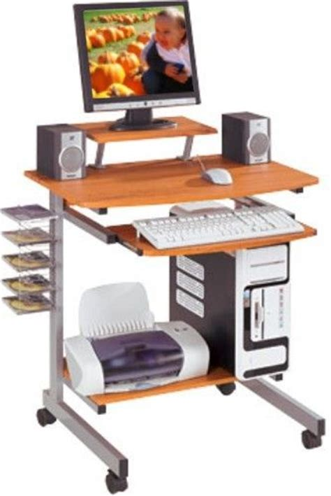 Vertical Computer Desk Techni Mobili Rta 2018 Mobile Computer Desk Features A Pull Out Keyboard Shelf With
