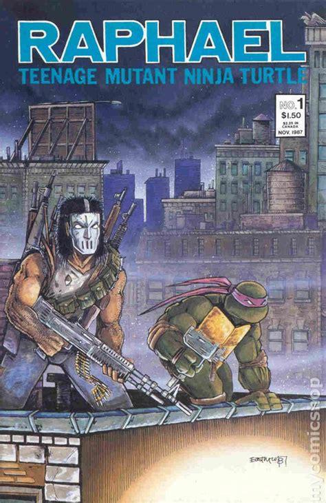 raphael books raphael 1987 mutant turtles 2nd printing