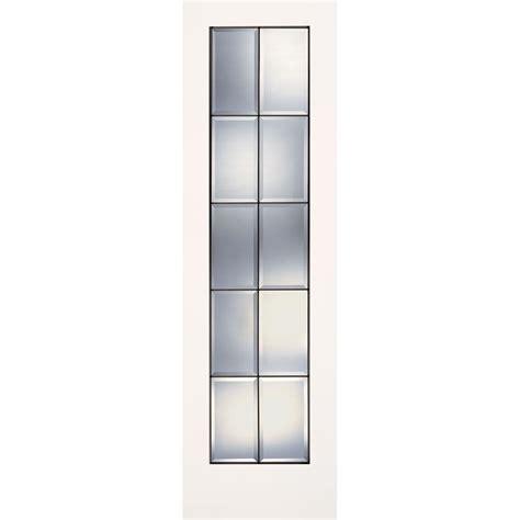 14 X 80 Interior Door by Feather River Doors 24 In X 80 In 10 Lite Clear Bevel
