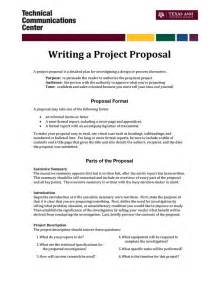 Project Work Written Report Sample Informal Proposal Letter Example Writing A Project