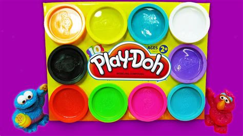play doh colors simple learn playdoh counting 1 10 and learning colors
