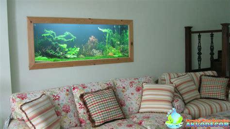 Membuat Aquascape Dinding | design aquascape dinding