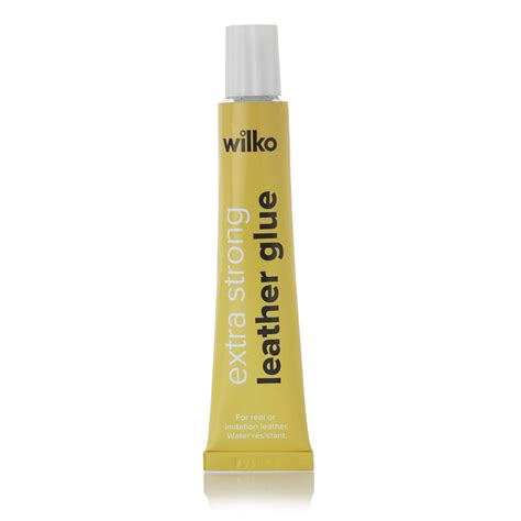 Leather Glue For by Wilko Leather Glue 20ml At Wilko