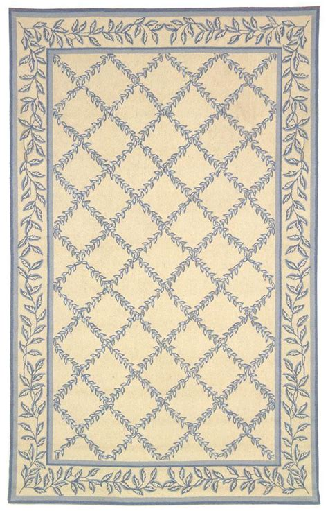 Safavieh Blue And Ivory Rug Safavieh Chelsea Hk230a Ivory And Light Blue Area Rug