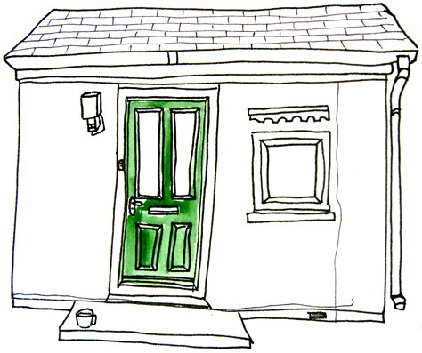 Drawing Of A Door by Place Sketchbook Clipart Panda Free Clipart