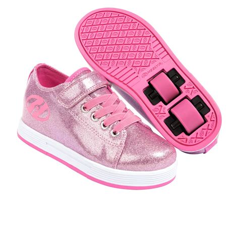 heelys shoes for sale heelys spiffy glitter skate shoes pink glitter free