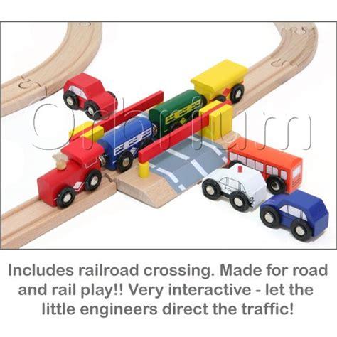 brio thomas the train set 100 piece orbrium toys triple loop wooden train set fits