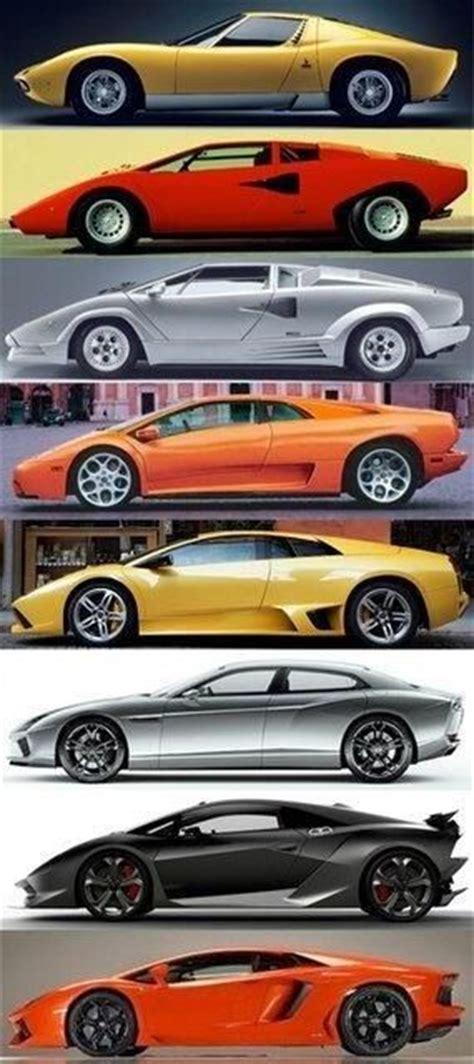 Lamborghini Through The Years Lamborghini Through The Years Machines That Make You Say