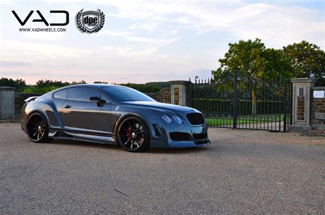 stanced bentley run dpe bentley continental gt with widebody kit