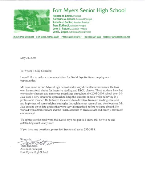 Recommendation Letter Format Ppt Masters In Creative Writing In Nj