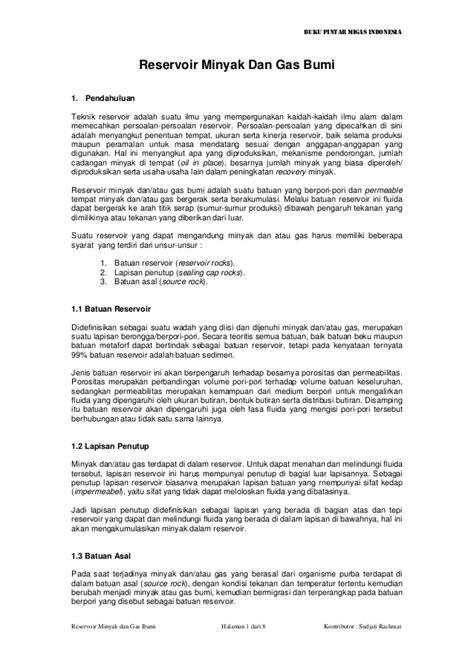 BUKU PINTAR MIGAS INDONESIA PDF