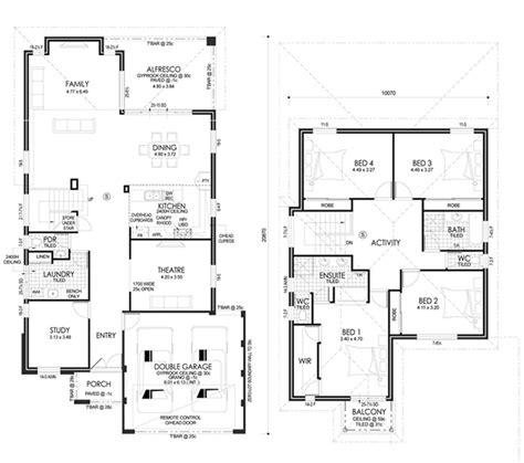 two storey house plans perth 2 story house plans 3 bedroom