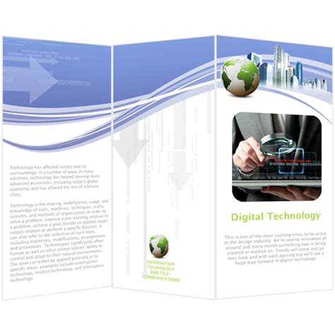 brochure maker template brochure templates sles brochure maker publisher plus