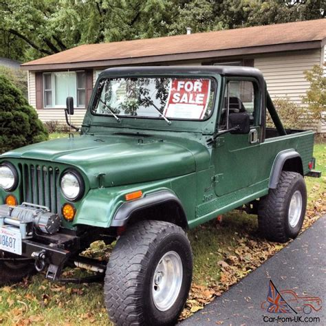 jeep scrambler hardtop 1983 jeep cj 8 scrambler 4wd hard top hard doors led