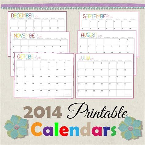 december 2014 printable calendar shining mom 2014 printable calendars fresh designs