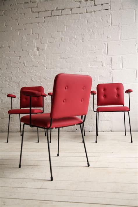 dining chairs cream  chrome