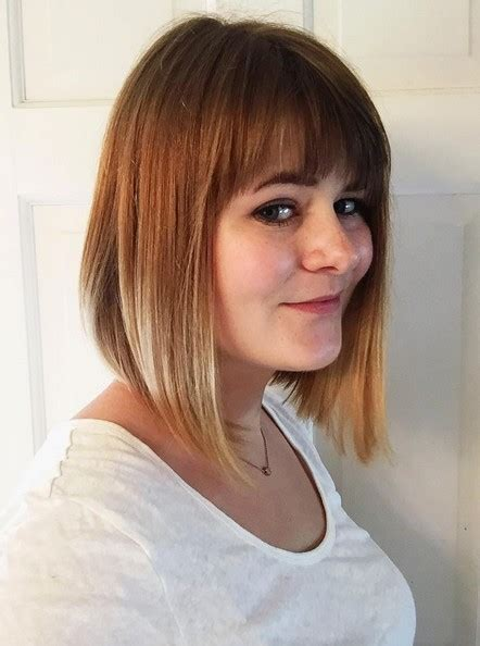 reverse bob haircut with bangs 22 cute inverted bob hairstyles popular haircuts