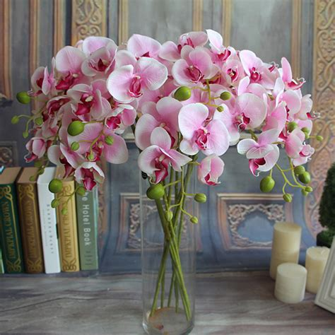 flowers for home decor silk flowers garden decor home artificial high quality