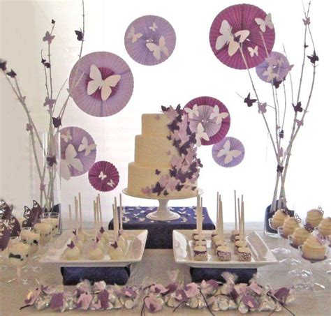 purple themed wedding shower ideas 35 delicious bridal shower desserts table ideas table