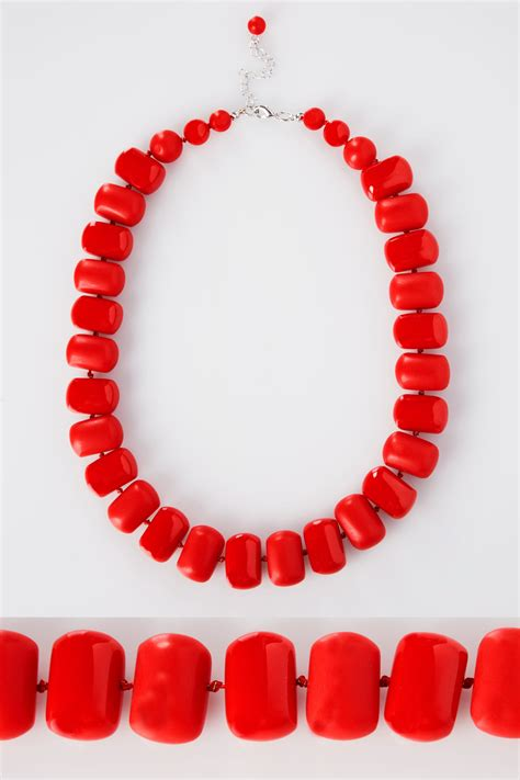 Sprite Amazon Gift Card - red chunky bead necklace