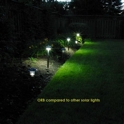 free light solar the orb solar lights for pathway garden by free light