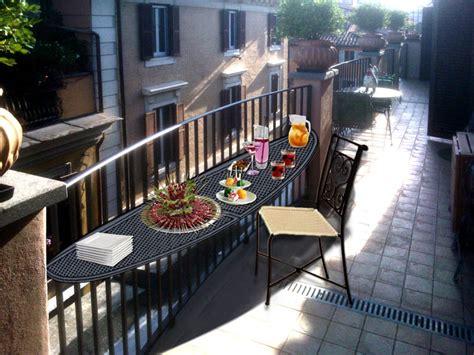 allestimento balcone