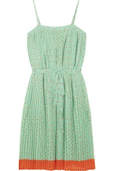 Friday Afternoon Dresses From Net A Porter by Paul Joe Girole Printed Crepe Dress Net A