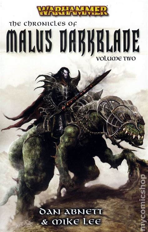 warhammer the chronicles of malus darkblade sc 2008 novel