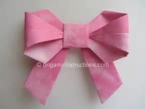 Origami Bow - origami november 2012