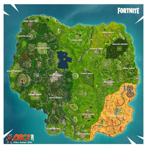 fortnite battle royale map orczcom  video games wiki