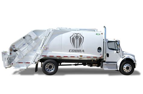 cobra refuse truck call standard equipment