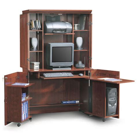 Desk Armoire Computer by Sauder Computer Armoire Furniture Walmart