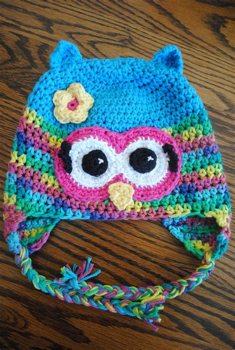 free pattern owl hat 1000 images about free crochet patterns hats on