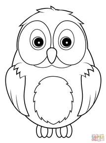 pictures of owls to color owl coloring page free printable coloring pages