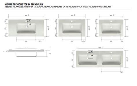 doppio lavabo bagno misure la veneta termosanitaria s r l monoblocco next 120