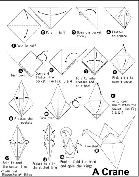 Origami Learning - school days learning about japan grade 5 origami crane