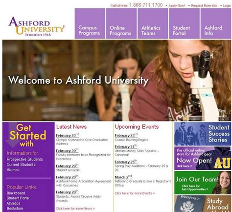 Ashford Mba Accredited by Ashford