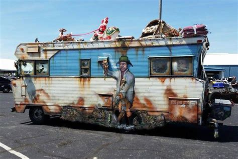 Xmas Decorations To Make At Home by This Vintage Rv Is A National Lampoon S Masterpiece