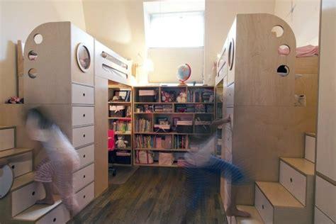 Hochbett Treppe Schubladen by Kinderzimmer F 252 R Zwei Einrichten 20 Clevere L 246 Sungen