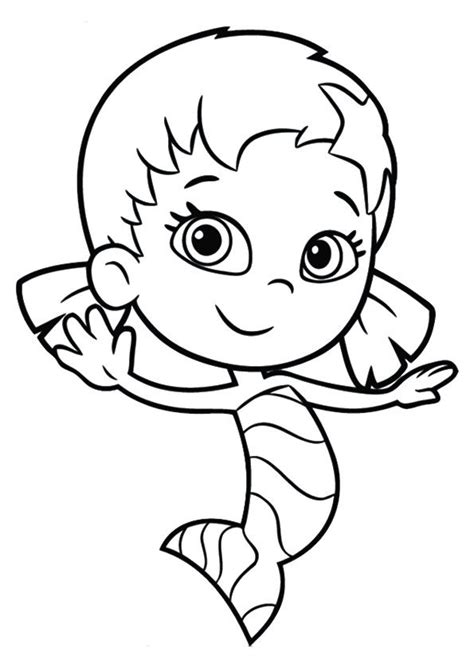 60 Best Bubble Guppies Coloring Pages Images On Pinterest Bubble Guppies Guppy And Coloring Guppies Coloring Pages