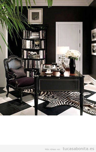 small black and white home office inspirations casa tu casa bonita ideas para decorar pisos modernos