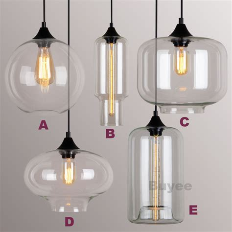 industrial glass pendant light modern industrial style pendant light glass shade ceiling