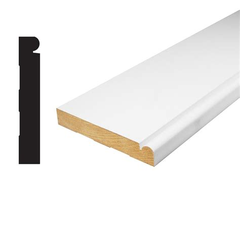 house of fara 3 4 in x 5 1 4 in x 8 ft mdf flute casing