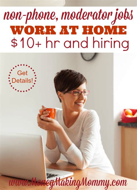 like the idea of working at home as a moderator - Working Online From Home In Canada