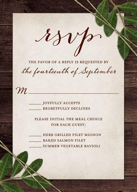 wedding rsvp wording  card etiquette   wedding wedding invitation rsvp wording